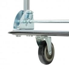 Фото - Тележка ручная четырех колесная до 150 кг, 740*480*830, колеса 100 мм INTERTOOL LT-9053