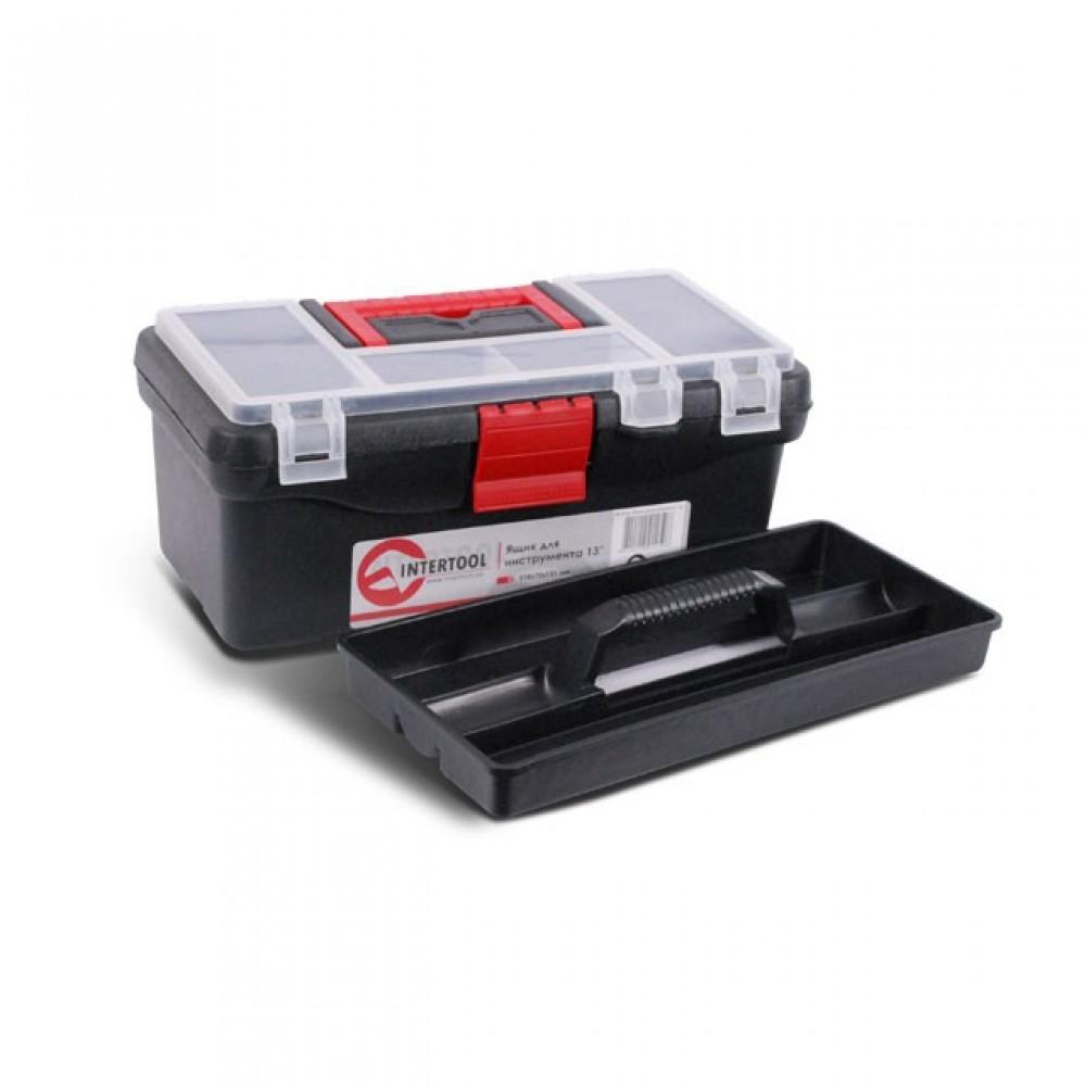 Фото №1 - Ящик для инструментов, 13' 318x175x131 мм INTERTOOL BX-0125