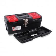"Фото - Ящик для инструментов с металлическими замками, 13"" 330x177x135 мм INTERTOOL BX-1013"