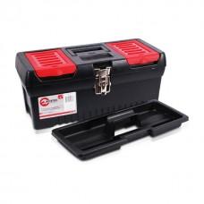 Фото - Ящик для инструментов с металлическими замками, 16' 396x216x164 мм INTERTOOL BX-1016