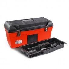 Фото - Ящик для инструмента с металлическими замками 24' 610x255x251 мм INTERTOOL BX-1123