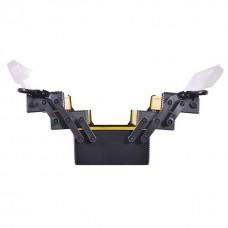 Фото - Ящик для инструментов металлический, 18', 5 секций, 454x210x230 мм INTERTOOL BX-5018