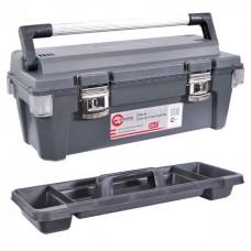 Фото - Ящик для инструмента с металлическими замками 25,5' 650x275x265 мм INTERTOOL BX-6025