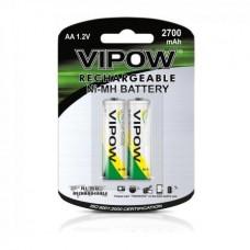 Фото - Батарея (аккумулятор) NI-MH AA 2700mAh 2шт/блистер