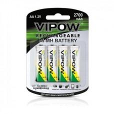 Фото - Батарея (аккумулятор) NI-MH AA 2700mAh 4 шт/блистер