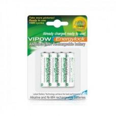 Фото - Батарея (аккумулятор) NI-MH AAA 900mAh 4 шт/блистер Energylock