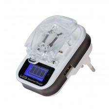 Фото - Универсальная процессорная зарядка для батарей M-LIFE Li-ion/Li-poly LCD USB