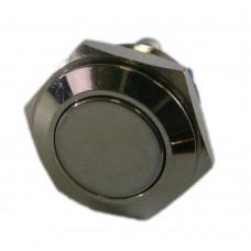 Фото - Кнопка антивандальная 16мм без фиксации, 3A 250V PBS