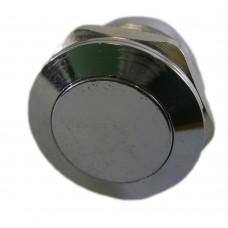 Фото - Кнопка антивандальная 19мм без фиксации, 3A 250V PBS