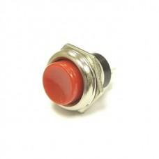 Фото - Кнопка питания круглая on-(off) красная, без фиксации, большая