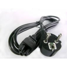 Фото - Шнур компьютерный сетевой к ноутбуку 3x0.75 мм 1.2 м, CCS (сталь плакированная медью)