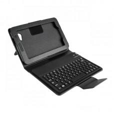 """Фото - Чехол для планшета 7"""" с клавиатурой bluetooth, черный, QUER"""
