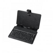 """Фото - Чехол для планшета 7"""" с клавиатурой micro USB, черный, QUER"""