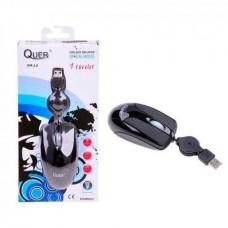Фото - Мышка оптическая USB Traveller QUER