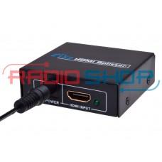 Фото - Сплитер 2port HDMI (1гн. HDMI- 2гн. HDMI), 1.3V, DC-5V