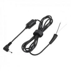 Фото - Штекер питания 2,35/0,7мм с кабелем 1,5м медь, корпус пластиковый с фильтром для планшетов