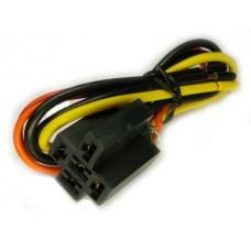 Фото - Колодка для автомобильного реле с проводами