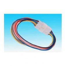 Фото - Контактная колодка, 12 контактов, с проводами