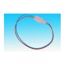 Фото - Контактная колодка, 2 контакта, с проводами