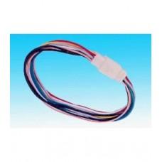 Фото - Контактная колодка, 9 контактов, с проводами