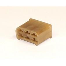 Фото - Контактная колодка (штырь+гнездо), 6 контактов, (КП-6)