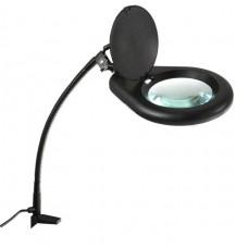 Фото - Лампа светодиодная с лупой 5D (80 LED) ZD-129B LED черная